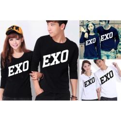 LP Exo - Baju / Kaos / Oblong / Couple / Pasangan / Kombinasi / Katun Combed