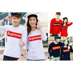 LP Supreme Couple - Baju / Kaos / Oblong / Couple / Pasangan / Kombinasi / Katun Combed