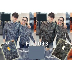 KC Field FL1033 - Baju / Kemeja / Busana / Couple / Pasangan / Kasual / Katun Stretch