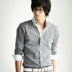 Hem Hamada Kemz - Kemeja / Busana / Atasan / Fashion / Pria / Slim Fit / Formal / Kasual