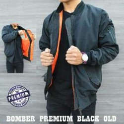 Jaket Bomber Grey - Mantel / Sweater / Taslan Mayer / Jokowi / Waterproof / Tahan Air / Tebal