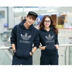 Jumper Adidas Navy - Mantel / Busana / Fashion / Couple / Pasangan / Babyterry / Sporty
