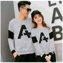 Sweater Alpha Neo Misty - Mantel / Busana / Fashion / Couple / Pasangan / Babyterry / Kasual
