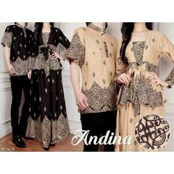 Andina - Busana / Baju / Fashion / Batik / Gamis / Couple / Pasangan / Muslim