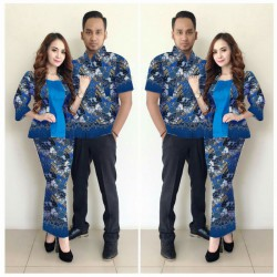 Assyfa - Busana / Dress / Batik / Couple / Pasangan / Pesta / Formal / Songket / Satin
