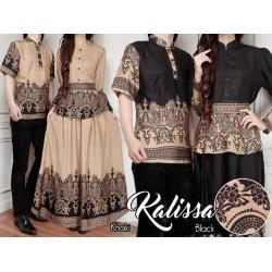 Kalissa - Busana / Baju / Fashion / Batik / Gamis / Couple / Pasangan / Muslim