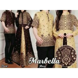 Marbella - Busana / Baju / Fashion / Batik / Gamis / Couple / Pasangan / Muslim