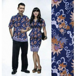 Peplum - Busana / Dress / Batik / Couple / Pasangan / Pesta / Formal / Songket