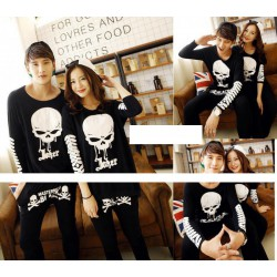 LP Skull Joker - Kaos Couple / Baju Pasangan / Grosir / Supplier / Couple