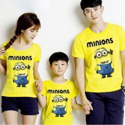 FM Minion Bob - Baju Keluarga / Fashion / Supplier / Grosir / Couple