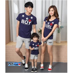FM Boy Girl - Baju Keluarga / Family Couple / Grosir / Supplier