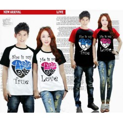 Kimono True Love - Kaos Couple / Baju Couple / Grosir / Couple / Supplier