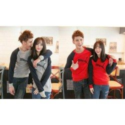 Sweater Puma - Mantel / Fashion / Couple / Pasangan / Babyterry / Sporty