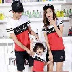FM Wisdom - Kaos / Family / 1 Anak / Couple / Fashion / Pasangan / Supplier / Grosir / Murah / Unik