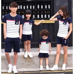 FM2 Sailor Anchor - Kaos / Family / 2 Anak / Couple / Fashion / Pasangan / Supplier / Grosir / Murah / Unik