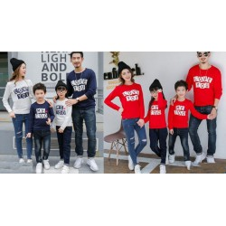 FM2 Sweater Love Too Navy - Baju Keluarga / Family Couple / Grosir Couple