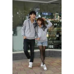Jacket Grey Qing - Jacket Couple / Baju Pasangan / Grosir / Supplier / Couple