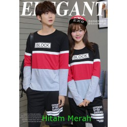 LP Block - Baju Couple / Kaos Pasangan / Fashion Couple / Grosir
