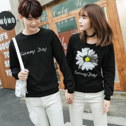 Sweater Sun Flower - Sweater Couple / Fashion / Supplier / Grosir