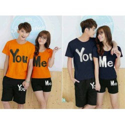 You Me - Kaos Couple / Baju Pasangan / Supplier / Grosir / Fashion / Couple