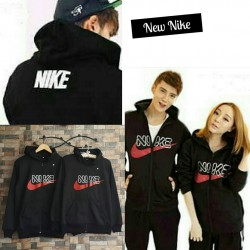 Jacket Nike Font - Jaket Couple / Fashion Pasangan / Supplier Grosir Baju Murah Unik