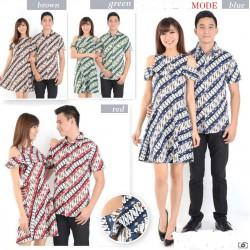 Dress Batik Alea - Dress Couple / Baju Pasangan / Grosir/ Supplier / Couple