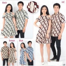 Dress Batik Parang - Dress Couple / Batik Couple / Grosir / Baju Pasangan