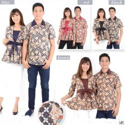 Batik Wilma Pita - Kemeja Couple / Batik Couple / Baju Pasangan / Grosir / Couple