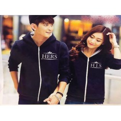 Jaket His Hers - Mantel / Busana / Fashion / Couple / Pasangan / Babyterry / Kasual